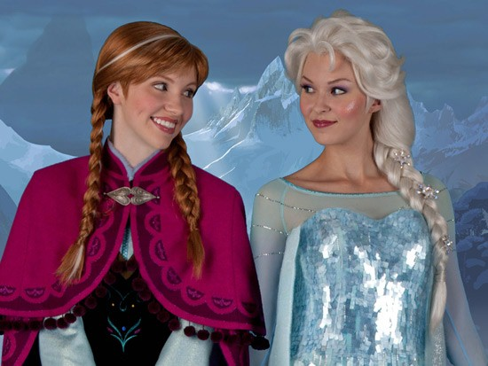 Anna and Elsa's Royal