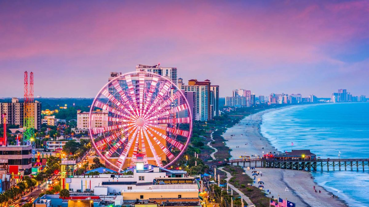 Myrtle Beach South Carolina Vacation Gran Dunes