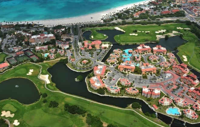 Aruba golfing