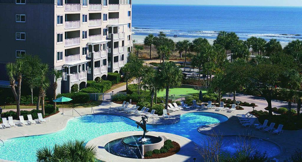 Marriott's Grande Ocean, Resort looking over opulent pool and pristine beach