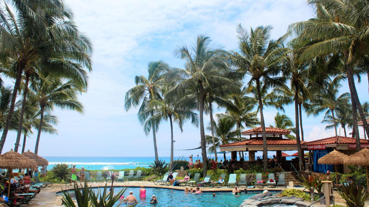 Hawaii beachfront vacation
