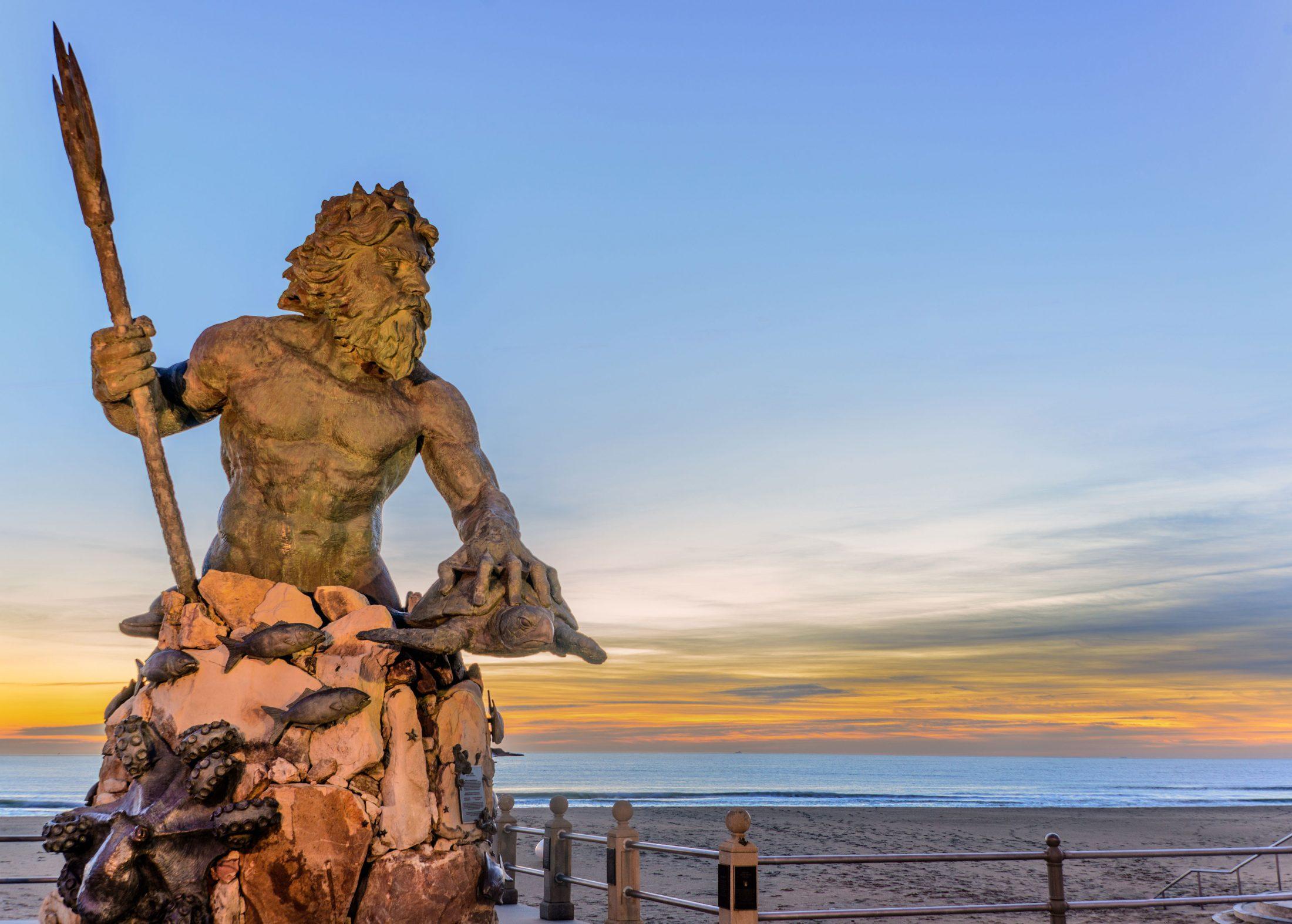 King Neptune at Neptune Park Virginia Beach