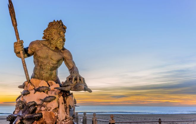 King Neptune at Neptune Park Virginia Beach