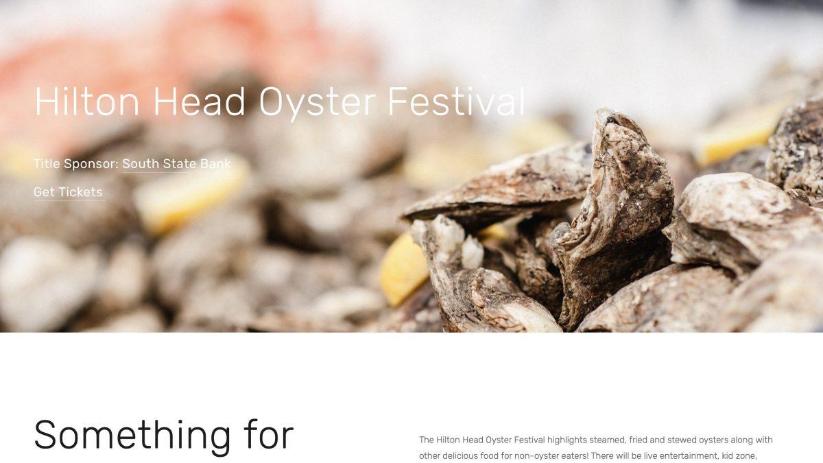 Hilton Head Island's Oyster Festival