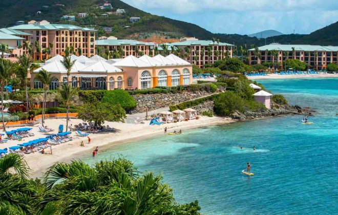 restoration of the Ritz Carlton St. Thomas